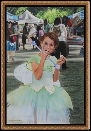 """Fairy Princess  -  24"""" x 36""""  Original Acrylic Painting"""