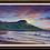"Thumbnail: Diamond Head Tranquility - 36"" x 24"" Original Oil Painting"