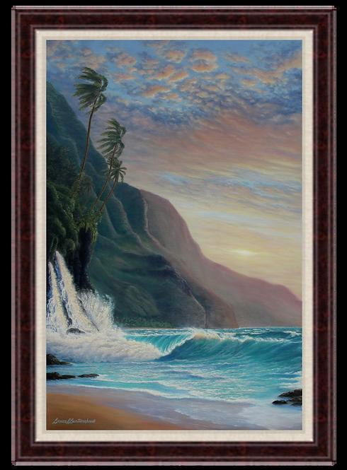 Napali Daybreak - Giclee Print