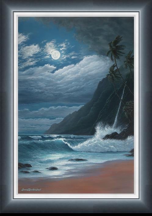 "Nocturnal Enchantment - 24"" x 36"" Original Oil Painting"