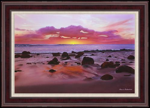 "Moloka'i Solitude - 36"" x 24"" Original Acrylic Painting"