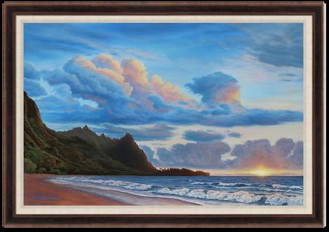 Makua Sunset - Giclee Print