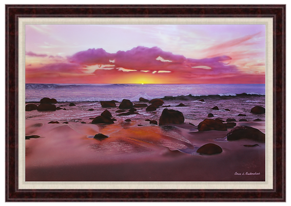 Moloka'i Solitude - Giclee Print