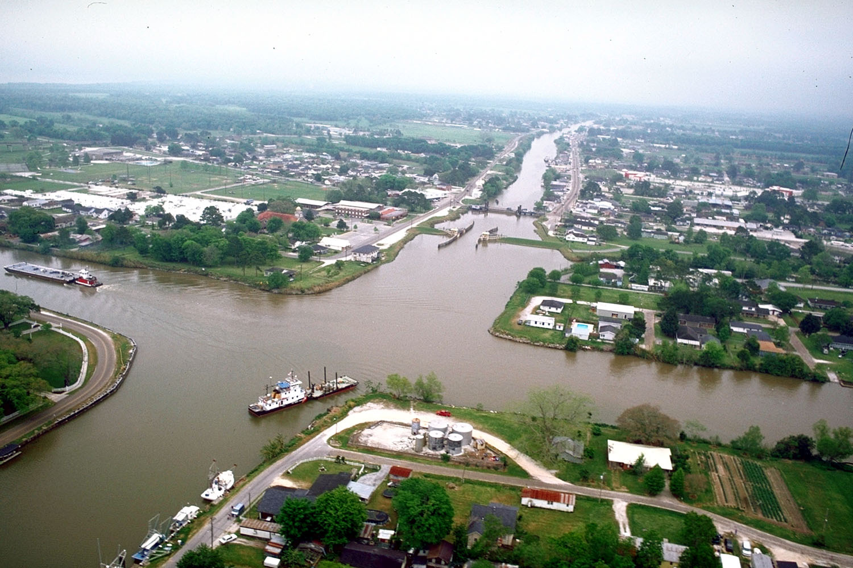 Larose_Louisiana_aerial_view