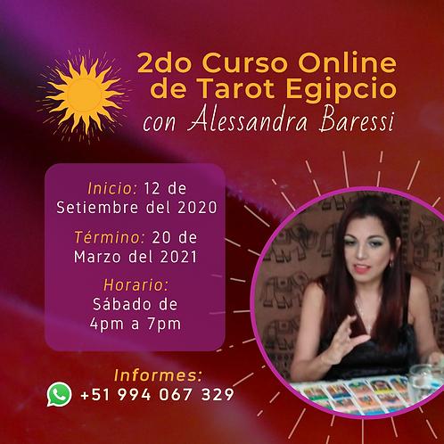 Curso de Tarot Egipcio Online