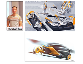 Christoph Sokol Helix efficient vehicle design winner!s