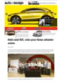 winning vehicle designs