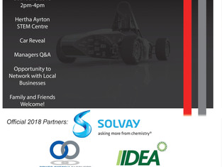 OUR 2018 LAUNCH EVENT