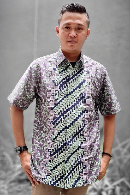 Batik Short Sleeves Shirt