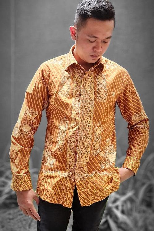 Batik Long-Sleeved Shirt