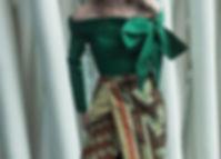Green Sabrina Blous&Skrit-Coreta louis-N