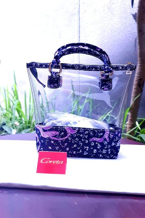 Mini Handbag Transparant Batik