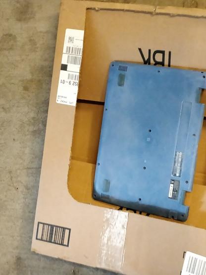 Custom painted laptop process