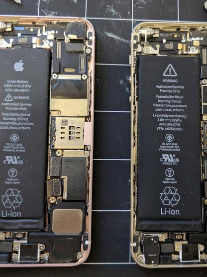 Iphone SE screen swap