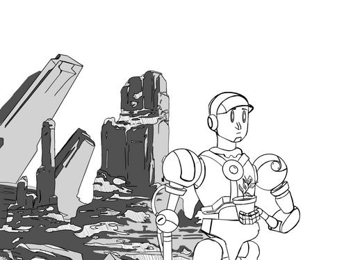 Robot art WIP
