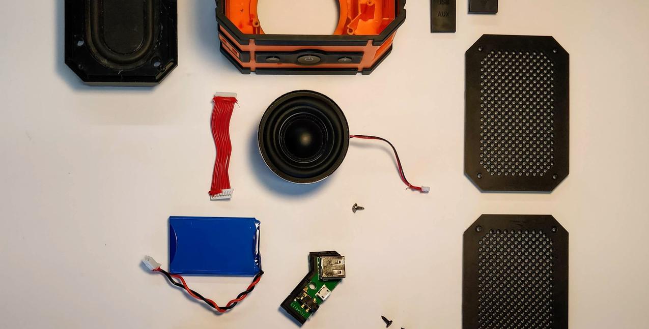 Bluetooth speaker study