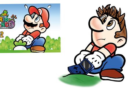 Mario cartoon style study