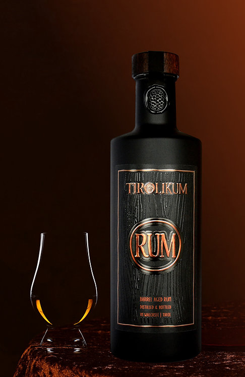 TIROLIKUM Rum (Medium Flasche 0,35 Liter) 42% vol.