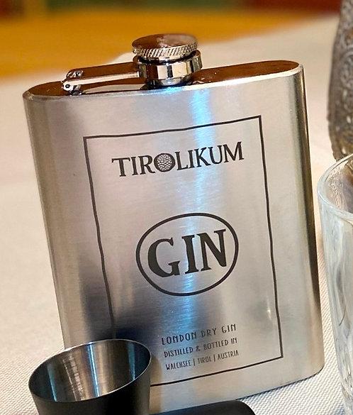 Tirolikum Gin-Flachmann