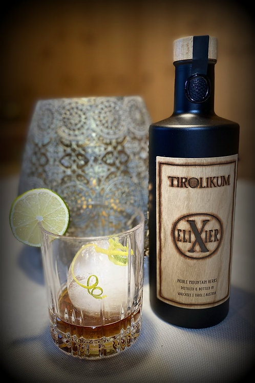 TIROLIKUM Elixier (Medium Flasche 0,35 Liter) 39 % vol.
