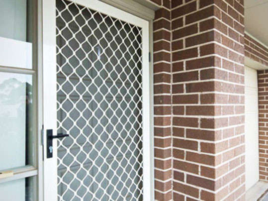 Diamon Grill Security Door