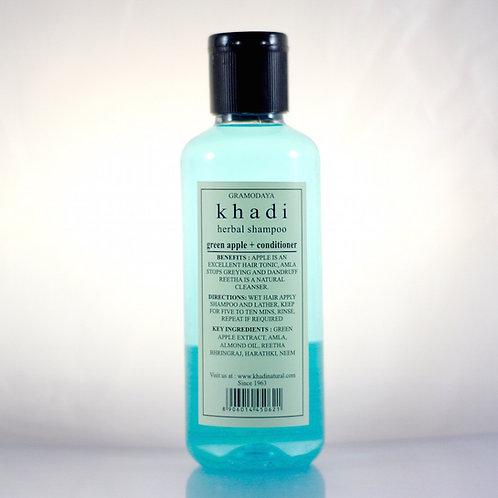 Shampooing Pomme Verte Khadi