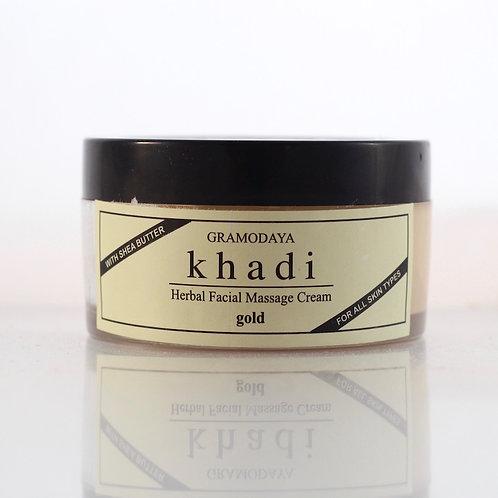 Gel Massage Visage à l'Or Khadi