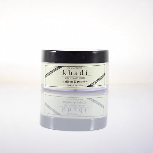 Crème Anti-Ride Safran et Papaye Khadi