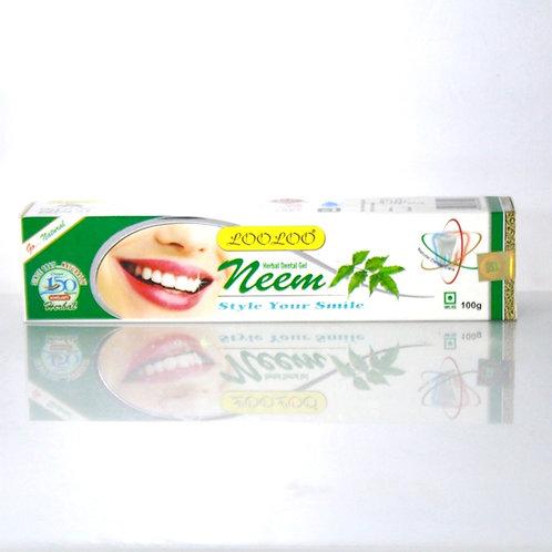 Gel Dentifrice Neem Looloo