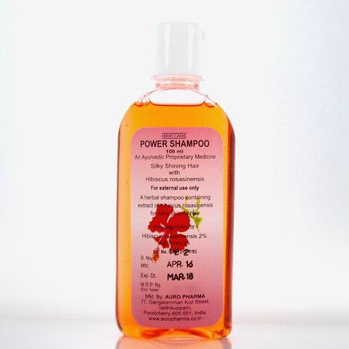 Power Shampoo à l'Hibiscus Auropharma