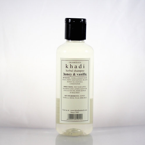 Shampooing Miel Vanille Khadi