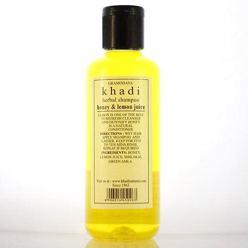 Shampooing Miel et Citron Khadi
