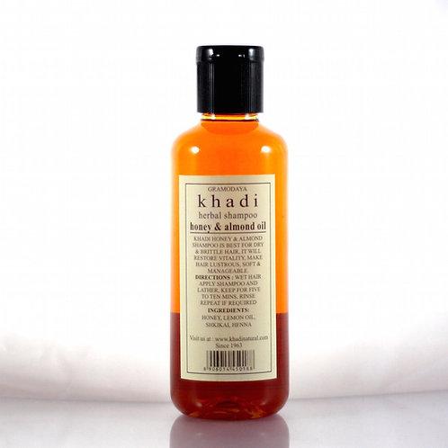 Shampooing Miel et Amande Khadi