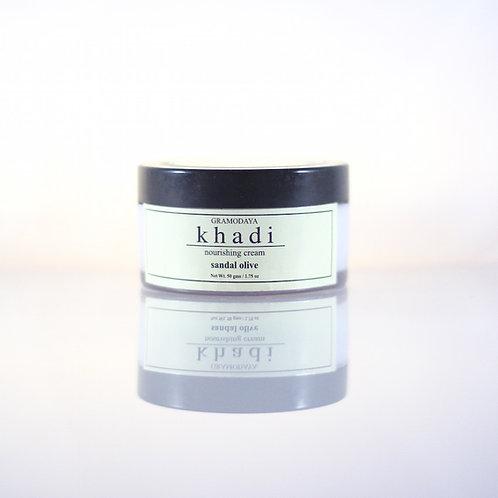 Crème Santal et Olive Khadi