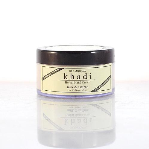 Crème pour les Mains Lait et Safran Khadi