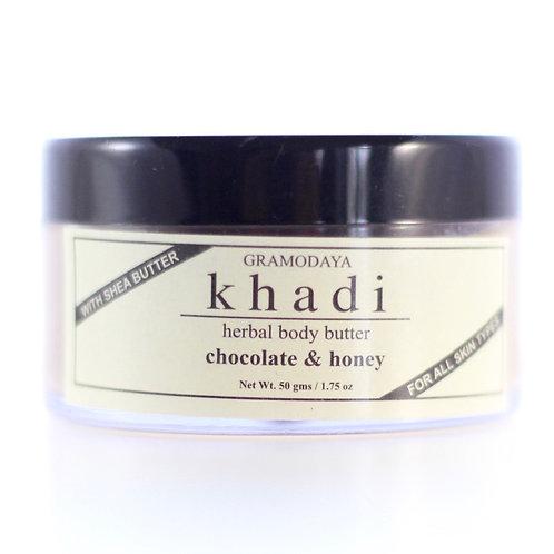 Beurre Nourrissant pour le Corps Chocolat et Miel Khadi