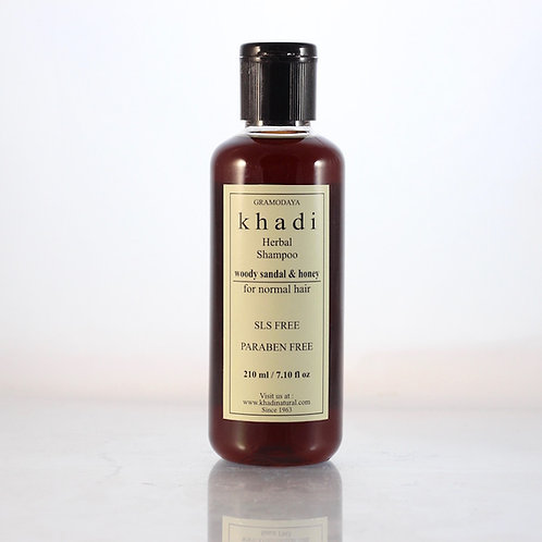 Shampooing Santal et Miel Khadi