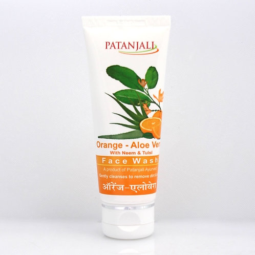 Gel Nettoyant Orange Aloe Vera Patanjali