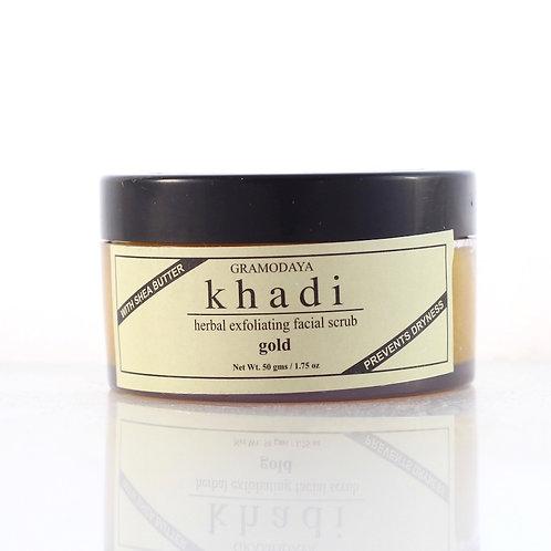 Gommage à l'Or Khadi