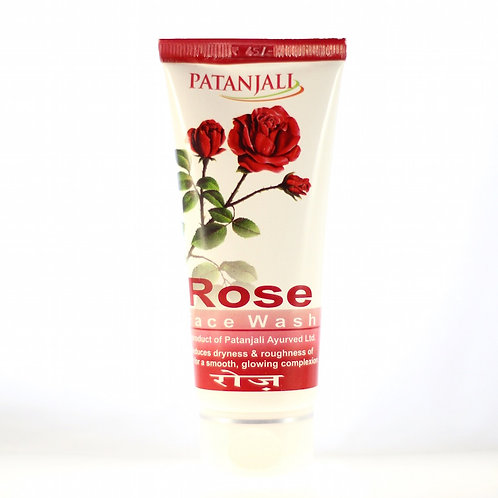 Gel Nettoyant sans savon à la Rose Patanjali