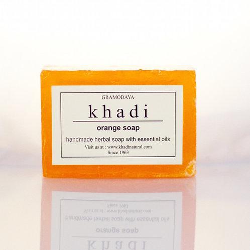 Savon Orange Khadi
