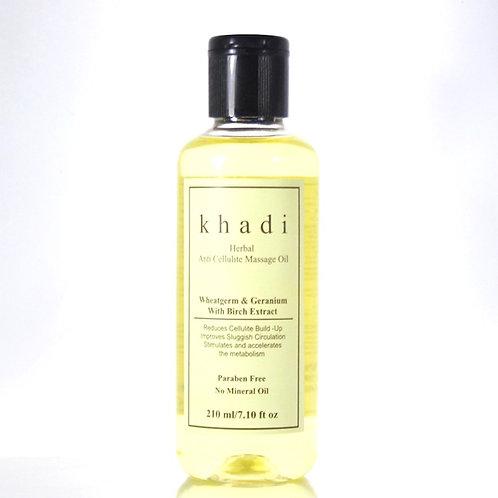 Huile de Massage Anti-Cellulite Khadi