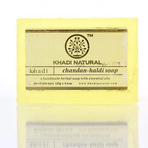 Savon Santal Curcuma Khadi