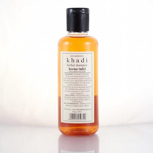 Shampooing Henné Tulsi Khadi