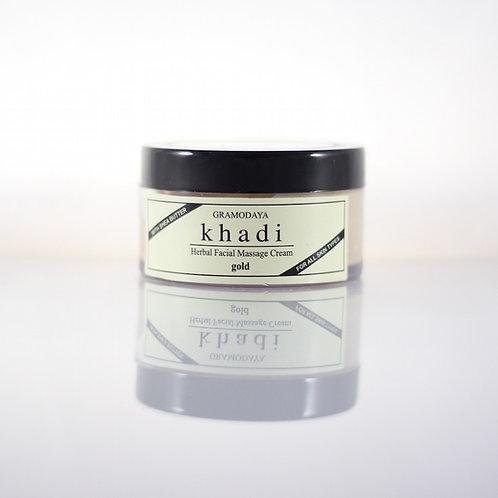Crème Massage pour le Visage à l'Or Khadi