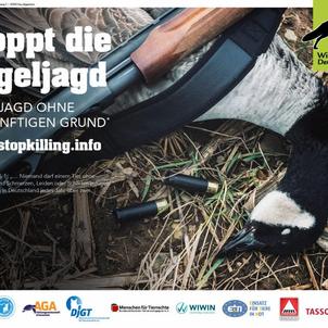 Keine Jagd ohne vernünftigen Grund – bundesweite Tierschutzkampagne