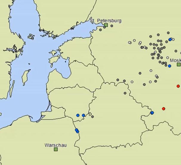 Afrikanische Schweinepest Polen Litauen 2014