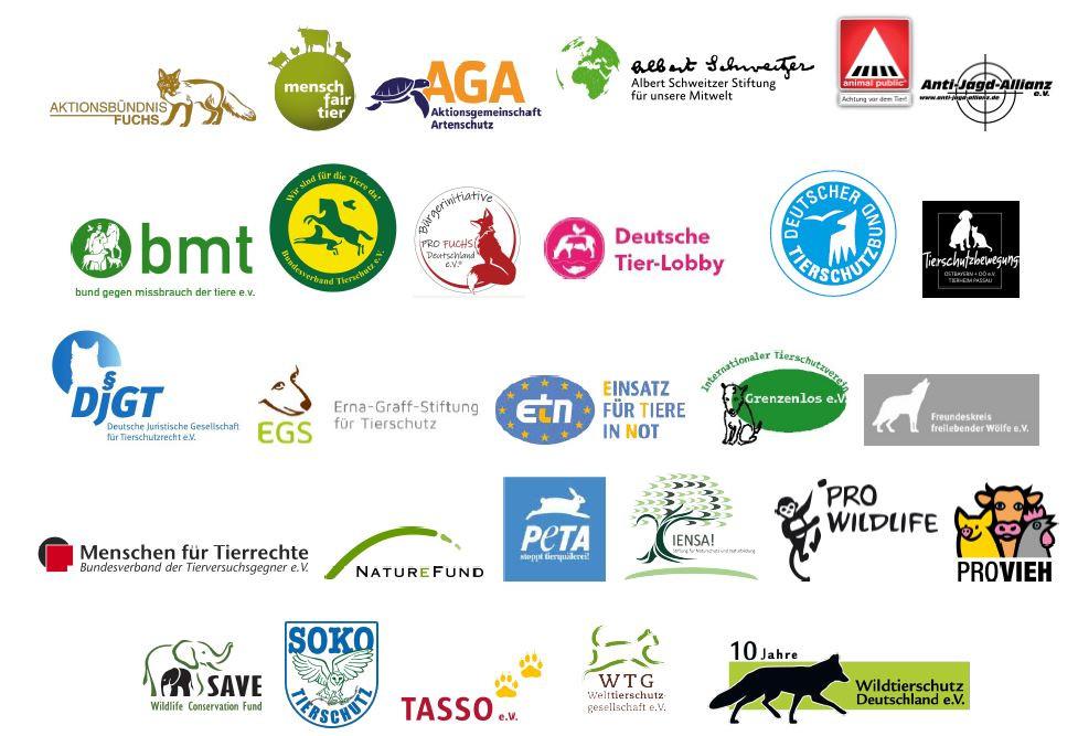 28 Tier- und Naturschutzorganisationen lehnen den Entwurf zur Novellierung des Bundesjagdgesetzes ab.