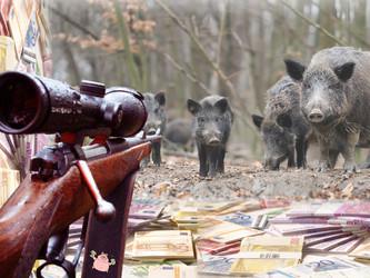 Meck-Pomm sponsert Massaker unter Wildschwein-Babys mit Millionen und zahlt Kopfgelder an Jäger und