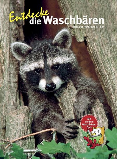 Buch über Waschbären